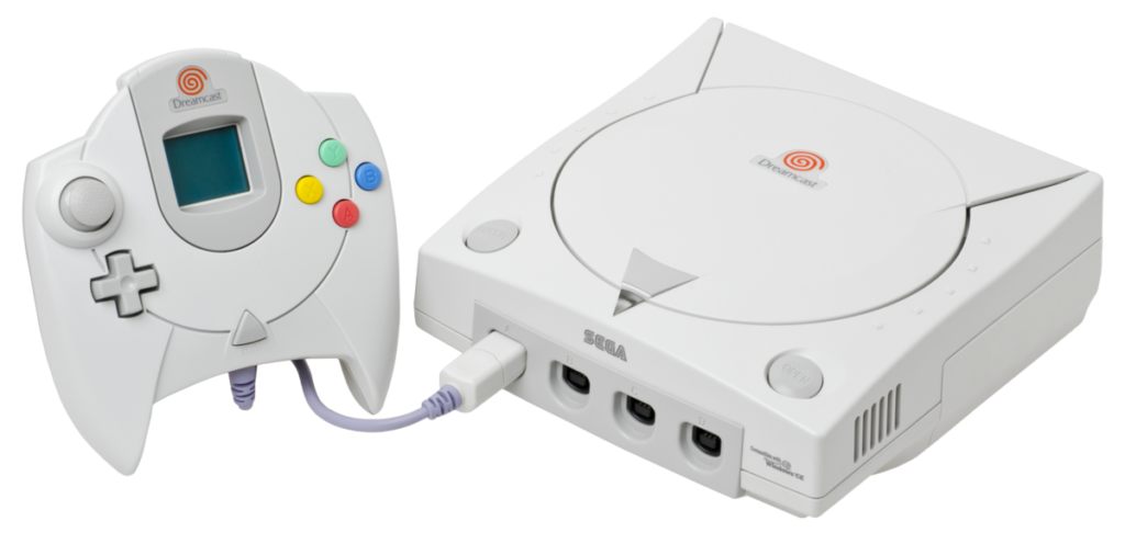 cyberplus retrogaming console dreamcast