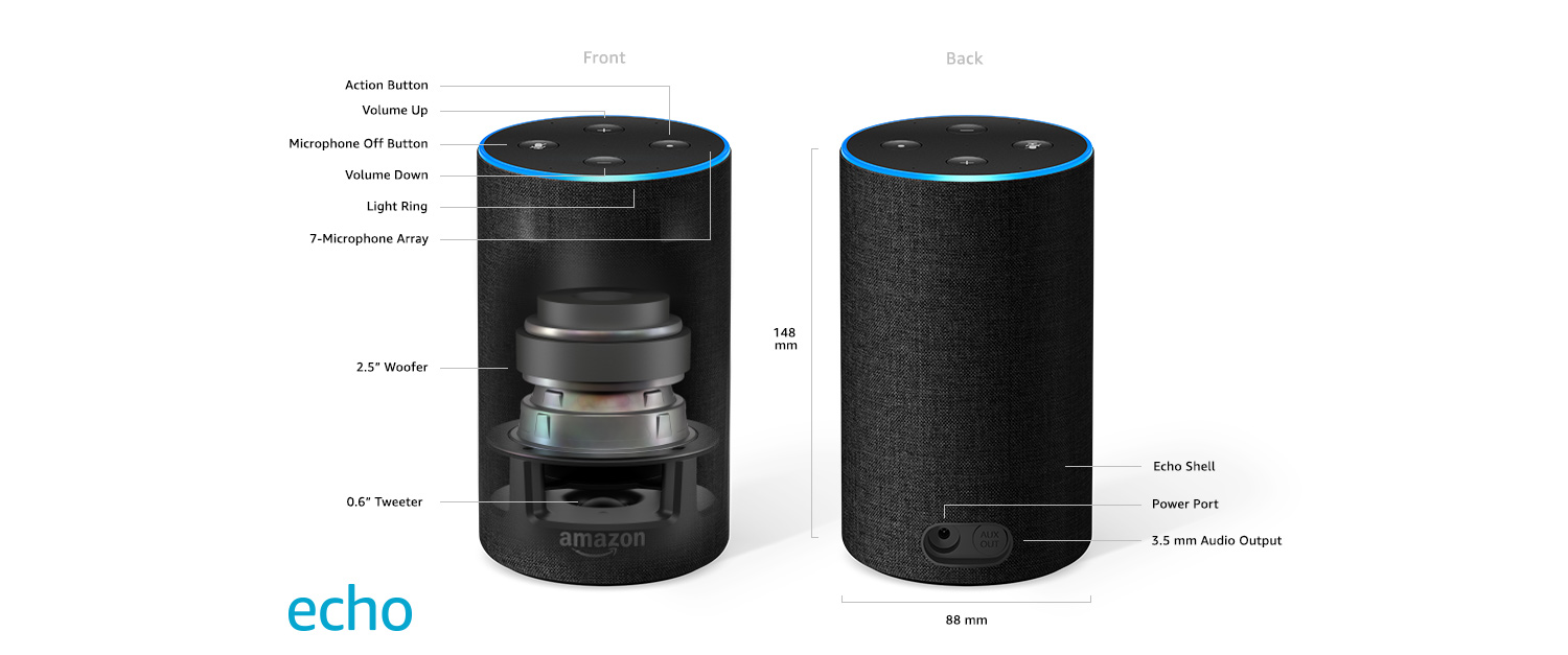 enceinte echo amazon cyberplus