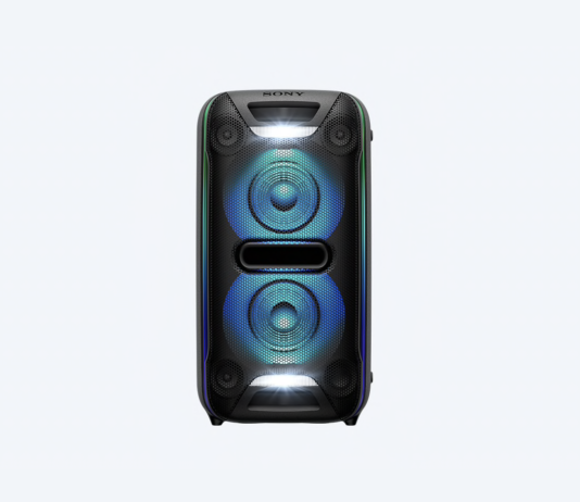 cyberplus teste l'enceinte Sony gtk xb72