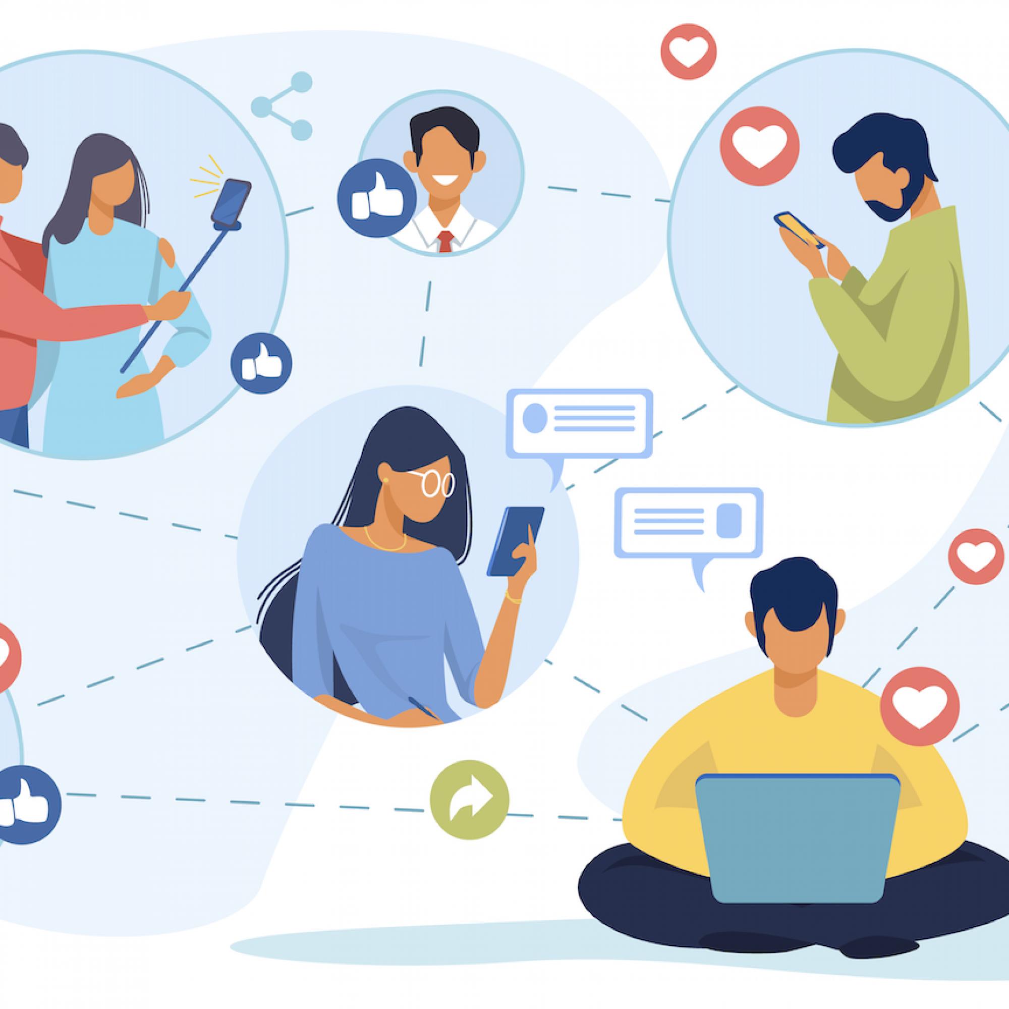 réseaux sociaux entreprise